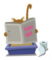 21759869-a-vector-cartoon-representing-a-funny-cat-looking-for-a-moment-of-privacy